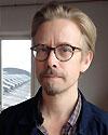 Mattias Åkeson, konstnär och lärare på KSM.