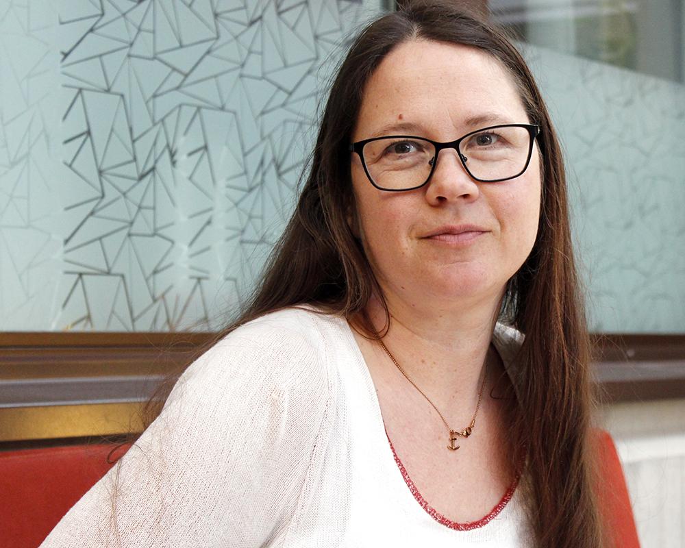 Bild: Johanna Nählinder, Koordinator för forskningsstöd
