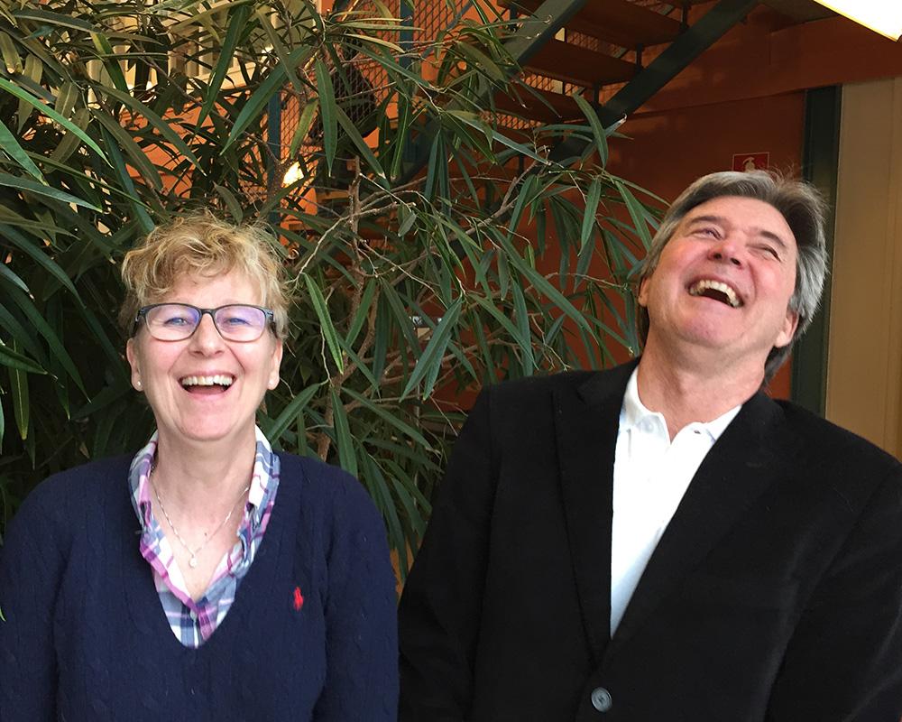 Bild: Roger Nilsson och Anita Axby. Foto: Anna Valentinsson