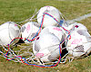 Footballs at Grenadjärvallen