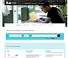 Start page the new library web