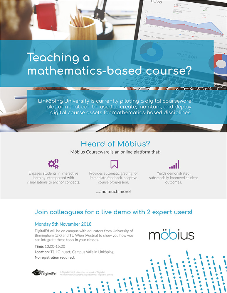 Inbjudan Teaching mathematics based course