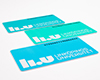 Three LiU Cards in different colours.
